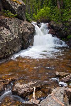 Free Waterfall. Stock Image - 21041711