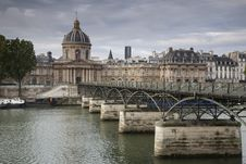 Free Pont Des Arts Bridge, Paris Stock Photo - 21043450