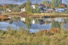 Free Country Pond In HDR Royalty Free Stock Photo - 21043835