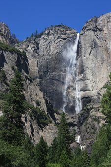 Upper Yosemite Falls Stock Image