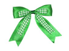 Free Green Bow Stock Photography - 21044172