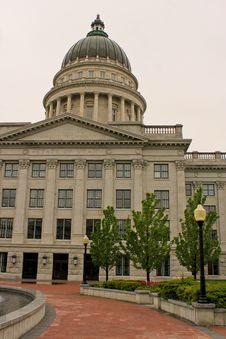 Free Utah Capitol Building Royalty Free Stock Image - 21044796