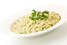 Free Risotto With Herbs Stock Image - 21044871