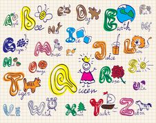 Free The Alphabet Royalty Free Stock Images - 21045089