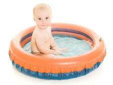 Free Baby Washes. Royalty Free Stock Photography - 21045137