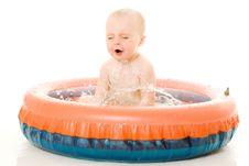Free Baby Washes. Royalty Free Stock Photo - 21045185