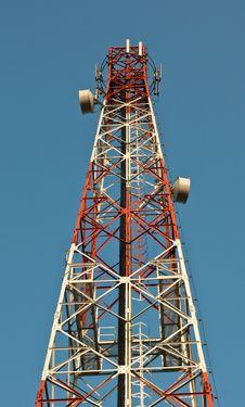 Free Telecommunication Tower Royalty Free Stock Image - 21045306