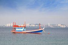 Free Fishing Boat Stock Photos - 21045793