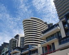 Free Docklands High Rise 2 Royalty Free Stock Photography - 21045917