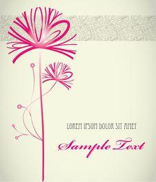 Free Stylish Floral Background Wedding Royalty Free Stock Photo - 21046035