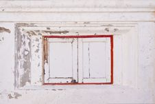 Free Old Small Window Under The Temple Stock Images - 21046464