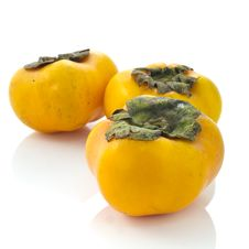 Free Persimmons Royalty Free Stock Photo - 21046475