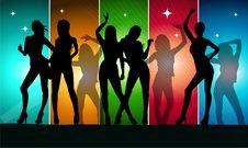 Free Woman Party Royalty Free Stock Photos - 21046568