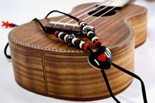 Free Ukulele Love Strap Royalty Free Stock Photos - 21046598