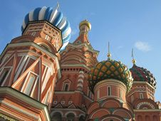 Free Saint Basil Domes Stock Photography - 21047272