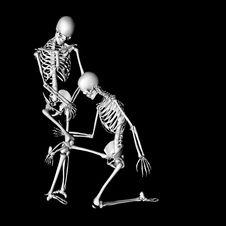Free Skeleton 76 Stock Images - 21047444