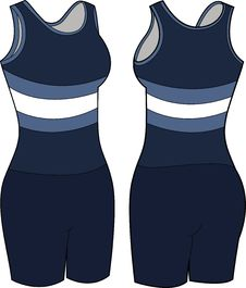 Free Women S Athletic Wear Illustration Stock Photography - 21047912
