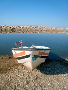 Free Old Fish-boat Stock Photography - 21048062
