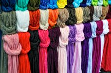 Free Silk Scarfs Stock Images - 21048294