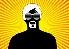 Free Retro Style Guy In Summer Royalty Free Stock Images - 21048649