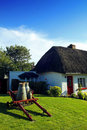 Free Old Style Irish Cottage Adare Co. Limerick Stock Photos - 21052953