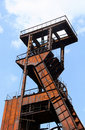 Free Colliery Pit Head Wheels Royalty Free Stock Photos - 21056568