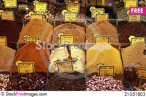 Free Spice And Herbal Tea. Stock Photos - 21051803