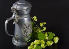 Free Beer Mug Royalty Free Stock Photo - 21050775