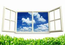 Free Open Window Royalty Free Stock Image - 21050896