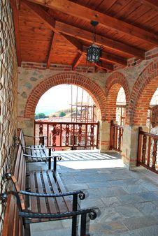Free Balcony Monastery Royalty Free Stock Photo - 21051165