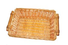 Free Wicker Basket Royalty Free Stock Image - 21051326
