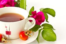 Free Tea With Rosehip Royalty Free Stock Images - 21052269