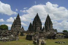 Free Prambanan2 Royalty Free Stock Photos - 21052358