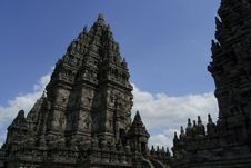 Free Prambanan1 Royalty Free Stock Images - 21052359