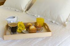 Breakfast Tray Royalty Free Stock Photos