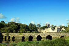 Free Adare Castle Co. Limerick Ireland Stock Photo - 21052530
