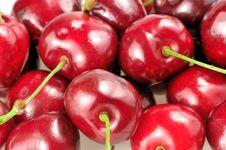 Free Heap Of Cherries Closeup Stock Images - 21052534