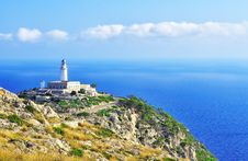 Free Lighthouse On Cape Formentor Stock Images - 21052574