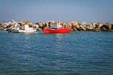 Free Two Fishing Boats Stock Photos - 21053113