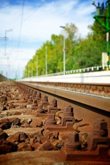 Free Rails Royalty Free Stock Image - 21053666