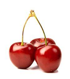 Free Three Cherries Stock Images - 21054184