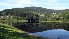 Free Bridge Across The River Stock Images - 21054724