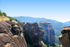 Free Meteora Monastery Stock Photography - 21055542