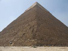 Free Pyramids Of Kefren Royalty Free Stock Image - 21055606