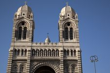 Free New Cathedral; Marseilles Royalty Free Stock Images - 21055759