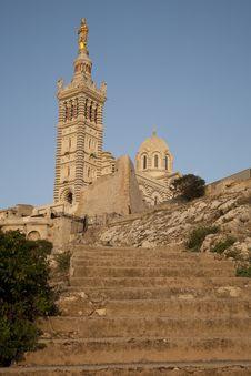 Free Baslique Notre Dame De La Garde Church, Marseilles Stock Image - 21055851