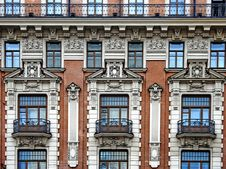 Facade Of Hotel National Royalty Free Stock Photo