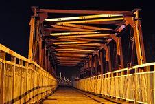 The Strange  Bridge Stock Photography