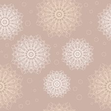 Seamless Lace Wallpaper Stock Images