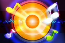 Free Music Background Stock Images - 21057004